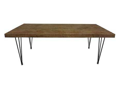 Moe's Home Collection Boneta 81 x 35 Rectangular Natural Dining Table