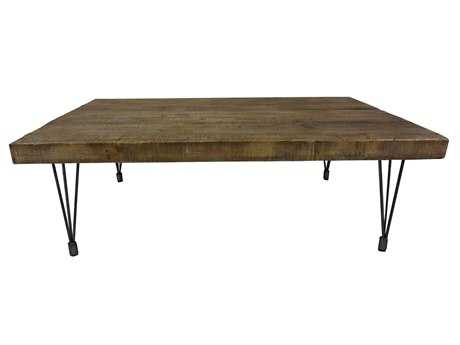 Moe's Home Collection Boneta 59 x 35 Rectangular Natural Coffee Table