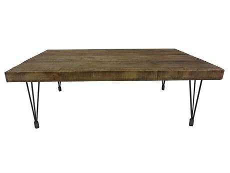 Moe's Home Collection Boneta 59 x 35 Rectangular Natural Coffee Table