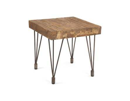 Moe's Home Collection Boneta 20 Square Brown End Table