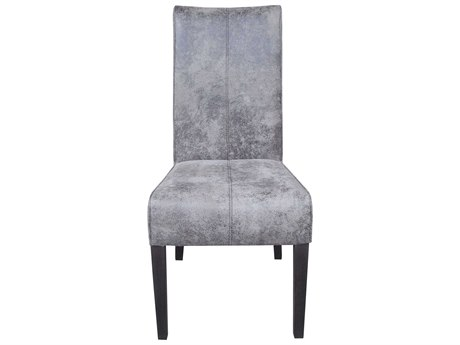Moe's Home Collection Mestizo Set of 2 Grey Dining Side Chairs
