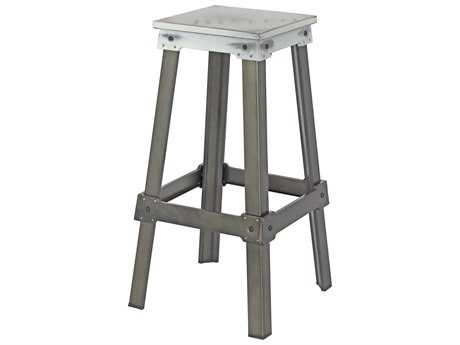 Moe's Home Collection Amelie Bistro White Bar Stool