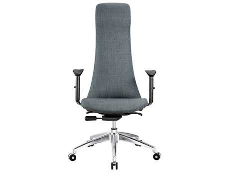 Moe's Home Collection Gama Dark Grey Office Chair