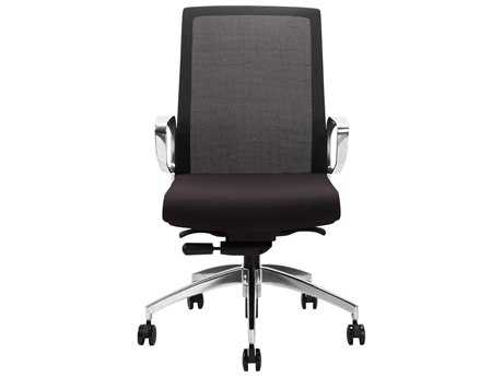 Moe's Home Collection Thasos Black Office Chair