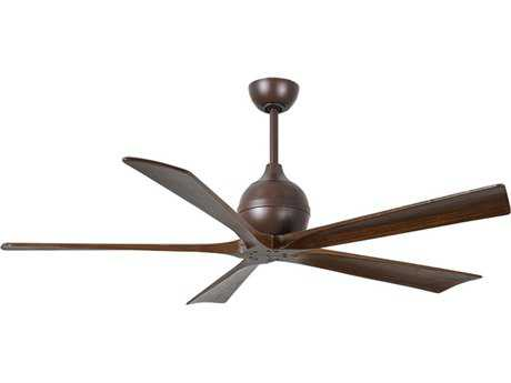 Matthews Fan Company Irene Textured Bronze 60'' Wide Five-Blade Indoor Ceiling Fan