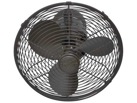 Matthews Fan Company Kaye Textured Bronze Wall Fan
