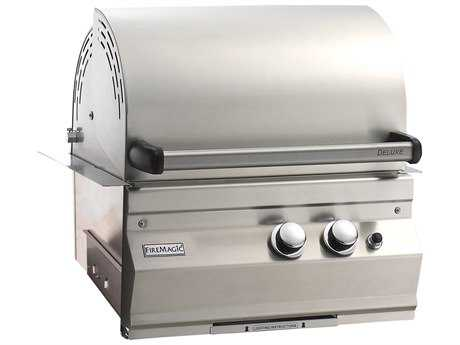 Fire Magic Legacy Stainless Steel Deluxe 23'' Built-in BBQ Grill PatioLiving