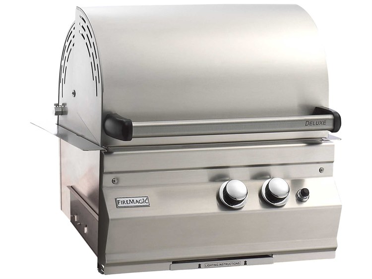 Fire Magic Legacy Stainless Steel Deluxe 23'' Built-in BBQ Grill