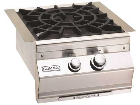 Fire Magic Built-In Stainless Steel Cast Brass Power Burner PatioLiving