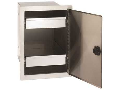 Fire Magic Legacy Stainless Steel Single Door with Dual Drawers