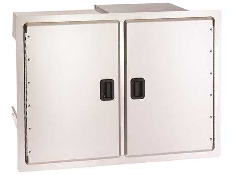 Fire Magic Legacy Stainless Steel Double Doors with Dual Drawers & Trash Tray PatioLiving