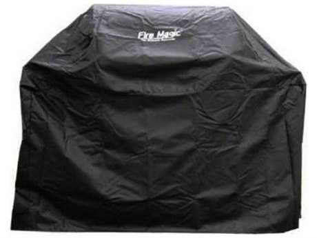 Fire Magic Grill Cover For Aurora/Choice A430/C430 Gas Grill Or 24-Inch Charcoal Grill On Cart