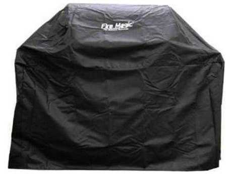 Fire Magic Grill Cover For Aurora A540 Gas Grill Or 30-Inch Charcoal Grill On Cart