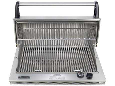 Fire Magic Legacy Stainless Steel Deluxe Classic 23'' Built-in Counter Top BBQ Grill