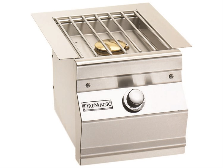 Fire Magic Built-In Stainless Steel Single Side Burner PatioLiving
