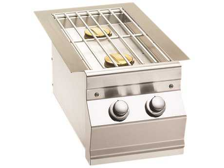 Fire Magic Built-In Stainless Steel Double Side Burner PatioLiving