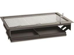 Charcoal Stainless Steel  Firemaster 30'' Built-in BBQ Grill