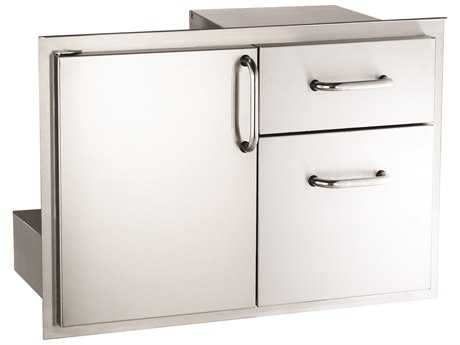 Fire Magic Select 30-Inch Access Door & Double Drawer Combo