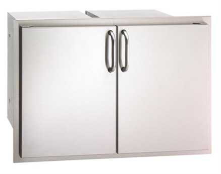 Fire Magic Select Stainless Steel Double Door Access with Dual Drawer & Trash Tray