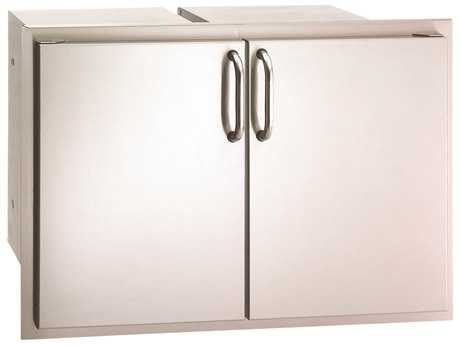 Fire Magic Select Stainless Steel Double Doors with Two Dual Drawers