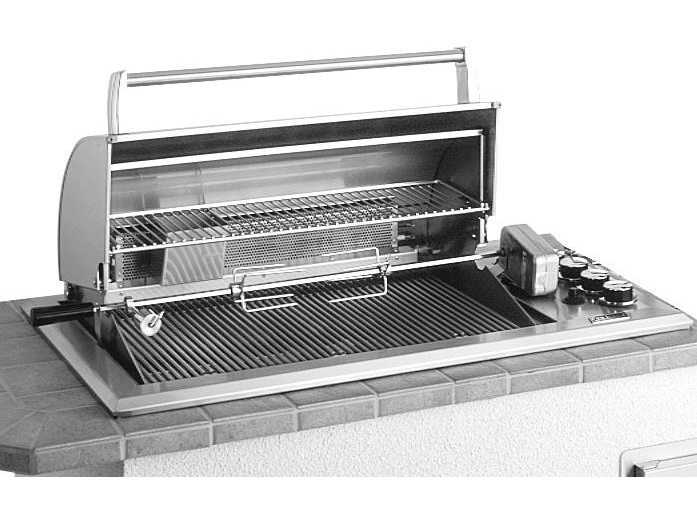 Fire magic legacy stainless steel regal 30 39 39 built in counter top bbq grill 34 s1s1n a - All stainless steel grill ...