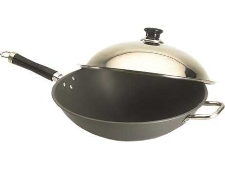 Fire Magic Wok With Stainless Steel Cover
