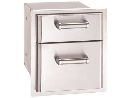 Fire Magic Premium Stainless Steel Double Drawer