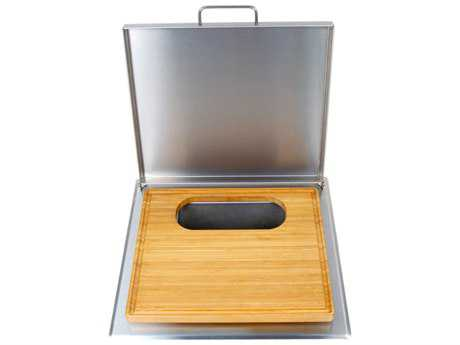 Fire Magic Cut and Clean Combo Trash Chute with Cutting Board