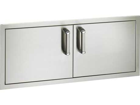 Fire Magic Premium Stainless Steel Reduced Height 39W Double Access Doors MG53938S