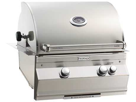 Fire Magic Aurora Built in Grill with Rotisserie Backburner PatioLiving