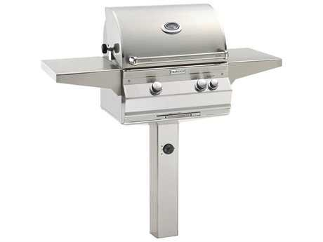 Fire Magic Aurora In-Ground Post Mount Grill PatioLiving