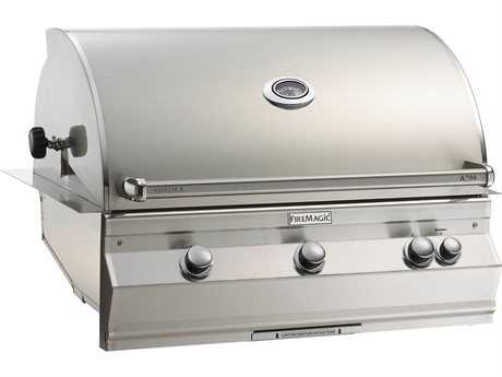 Fire Magic Fire Magic Aurora Built in Barbecue Grill Stainless Steel PatioLiving