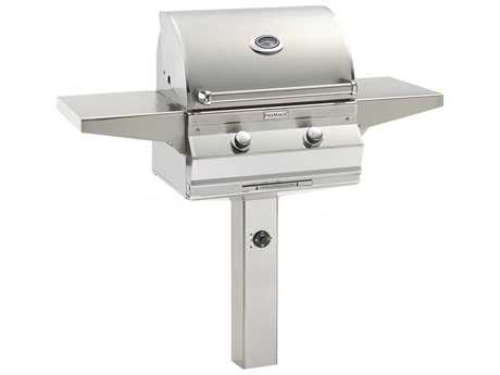 Fire Magic Choice Grill On In-Ground Post Mount