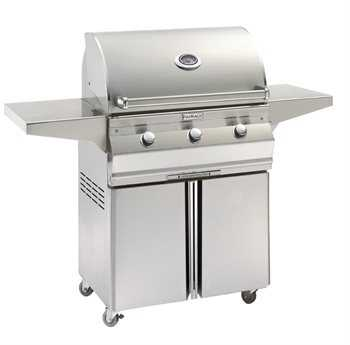 Fire Magic Choice Stainless Steel 30'' C540 On Cart Analog Patio BBQ Grill