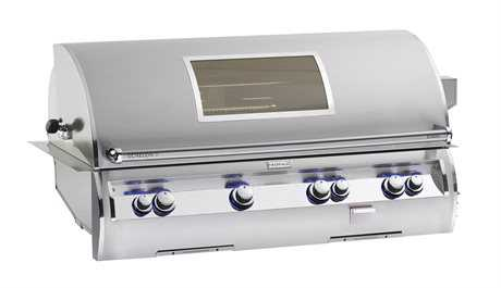 Fire Magic Echelon Diamond Stainless Steel 48'' Built-in Analog Magic View Patio BBQ Grill PatioLiving