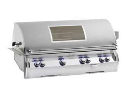 Echelon Diamond Stainless Steel 48'' Built-in Analog Magic View Patio BBQ Grill