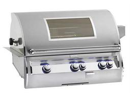 Echelon Diamond Stainless Steel 30'' Built-in Analog Magic View Patio BBQ Grill
