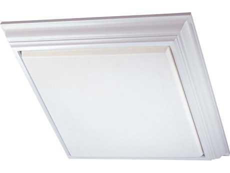 Minka Lavery White 29'' Wide Four-Light Flush Mount Light
