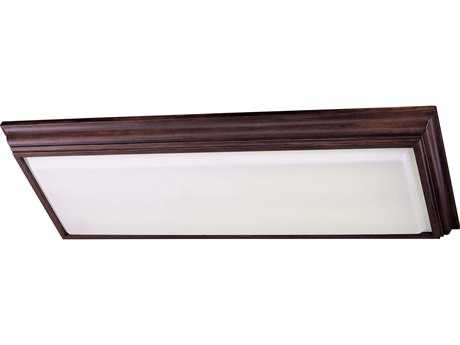 Minka Lavery Belcora Walnut 53'' Wide Four-Light Flush Mount Light