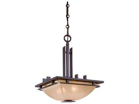 Minka Lavery Lineage Iron Oxide 15.5'' Wide Two-Light Pendant Light