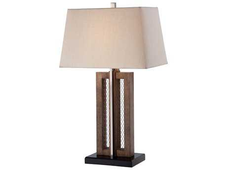 Minka Lavery Dark Brown Buffet Lamp
