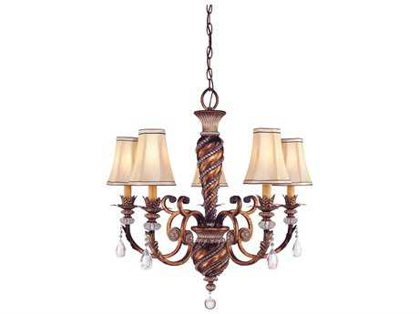 Minka Lavery Aston Court Bronze 28.5'' Wide Five-Light Chandelier