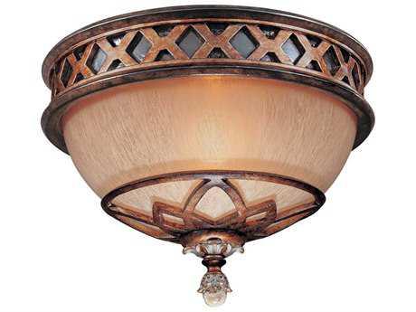 Minka Lavery Aston Court Bronze 11'' Wide Flush Mount Light