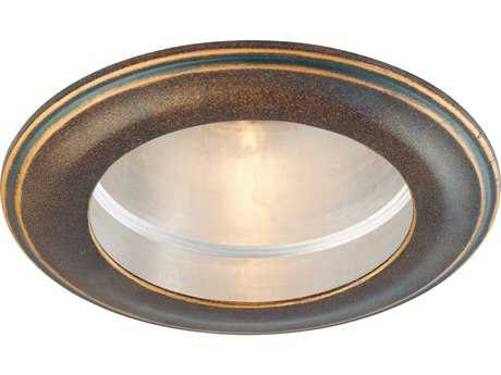 Minka Lavery Recess Trim Deep Flax Bronze 5.5'' Wide Flush Mount Light