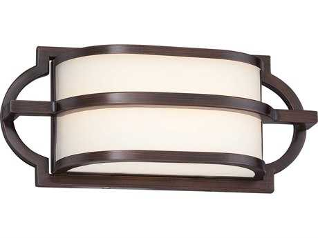 Minka Lavery Mission Grove Dark Brushed Bronze (Painted) LED Vanity Light