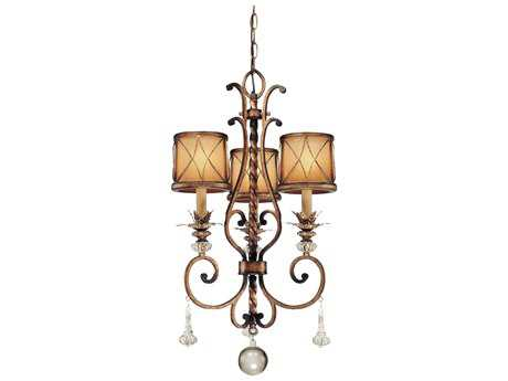 Minka Lavery Aston Court Bronze 17'' Wide Three-Light Chandelier