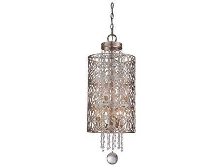 Minka Lavery Lucero Florentine Silver 11.5'' Wide Six-Light Pendant Light