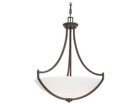 Minka Lavery Middlebrook Vintage Bronze Three-Light 21'' Wide Pendant Light