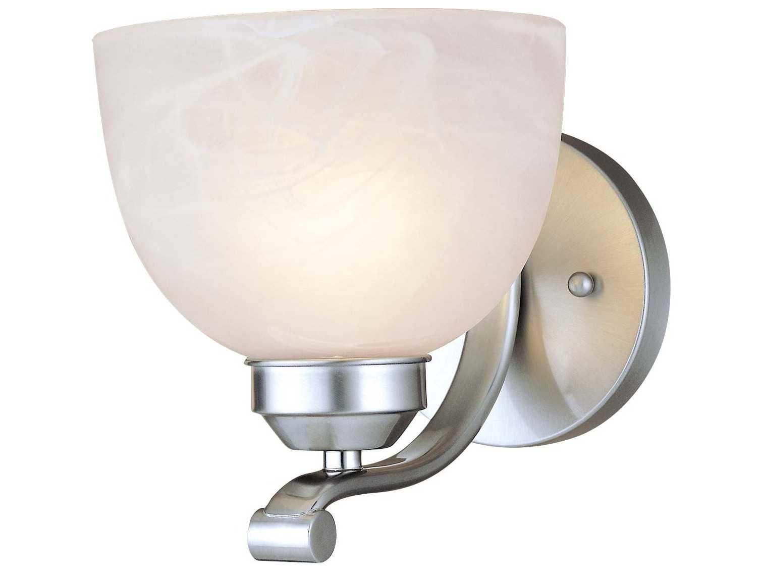 Minka Lavery Vanity Light In Brushed Nickel : Minka Lavery Paradox Brushed Nickel Medium Vanity Light MGO542184