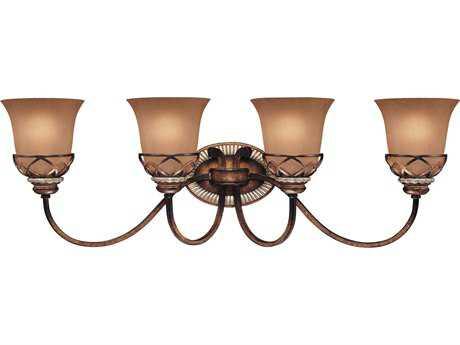 Minka Lavery Aston Court Bronze Four-Light Vanity Light